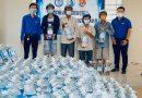 ĐTN Công ty hỗ trợ trao 1000 bình nước uống loại 5l cho người dân xã Tiên Thủy  Huyện Châu Thành Tỉnh Bến Tre